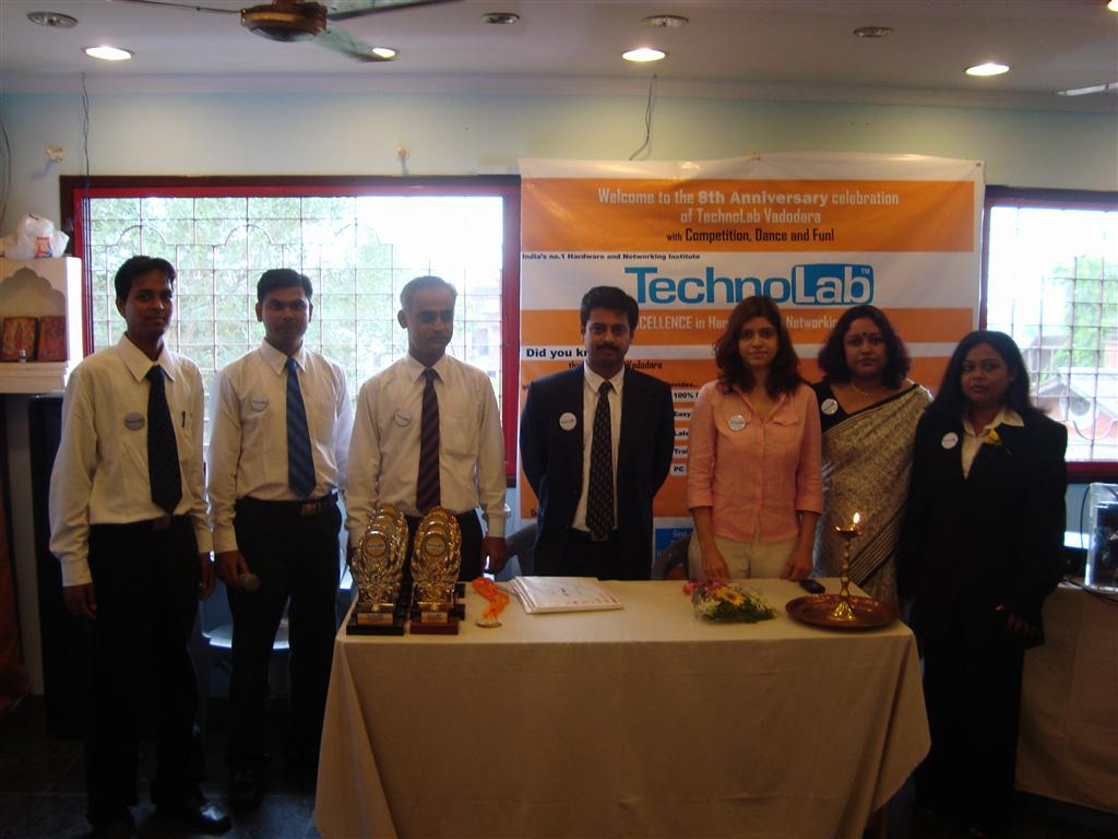 The proud TechnoLab Gujarat team